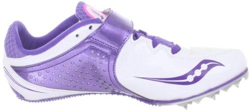 Saucony Chaussures Spitfire 2 Pistes Blanc / Violet