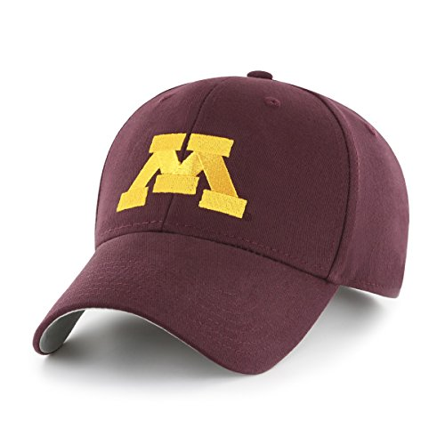 NCAA Minnesota Golden Gophers Children Cinch Ots All-Star MVP Adjustable Hat, Toddler, Dark (Maroon Kids Hat)