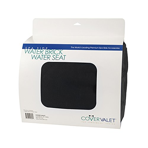 Cover Valet 705554678575 Water Brick Seat, Black