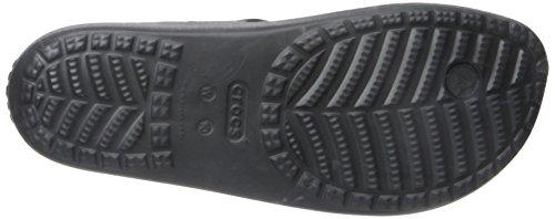 Crocs Sloane Crystal Flip W - Sandalias de plataforma y cuña Mujer Black