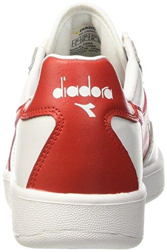 Diadora Rosso Elite Pumps Erwachsene C0823 Ferrari Unisex Mehrfarbig Bianco B Italia trUwqOr0xp