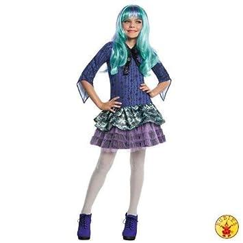 Lively Moments Noble Disfraz Monster High Twyla con Peluca Vestido M=116-128: Amazon.es: Juguetes y juegos