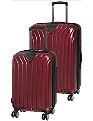it luggage Excelsior 8 Wheel Single Expander ABS/PC 2 Piece Luggage Set: 25 and 18