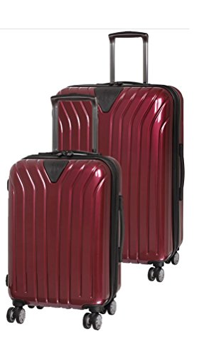 it luggage Excelsior 8 Wheel Single Expander ABS/PC 2 Piece Luggage Set: 25