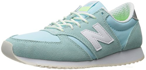 New Balance Women's 420 70S Running Lifestyle Fashion Sneaker, Ozone Blue Glo/White, 10 B US
