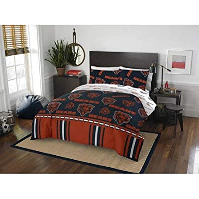 Official Chicago Bears Bed in Bag Set Queen: Home & Kitchen