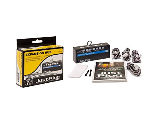 Scenix JP57-2 Just Plug Lighting System Expansion Hub Hobby Train Truck Railroad Kit Quick Arrive