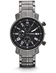 Fossil Rhett Chronograph Stainless Steel Watch - Gunmetal Bq1004