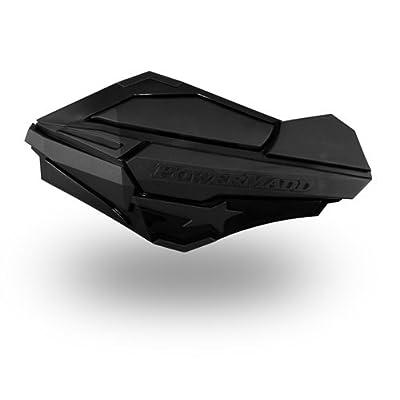 PowerMadd 34410 Black/Black Sentinel Handguard: Automotive