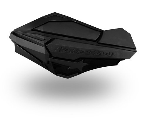 PowerMadd 34410 Black/Black Sentinel Handguard