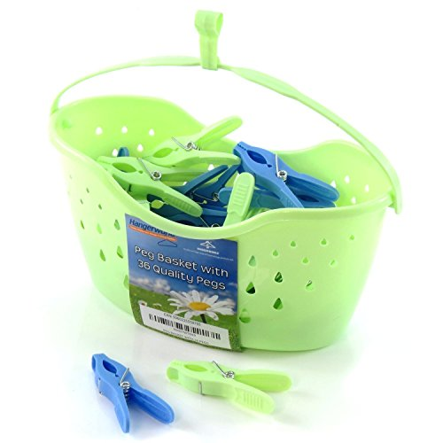 hangerworld-single-green-plastic-peg-basket-with-36-quality-pegs-for-clothes-lines