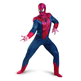 Marvel The Amazing Spider-Man 3D Movie Classic Adult Costume 41IdL0AAuYL