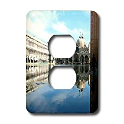 3dRose lsp_1311_6 Piazza San Marco Venezia Italy 2 Plug Outlet Cover
