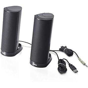 Dell AX210 USB Stereo Speaker System (W955K)