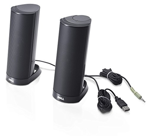Portable Usb Speaker Pc (Dell AX210 USB Stereo Speaker System (W955K))