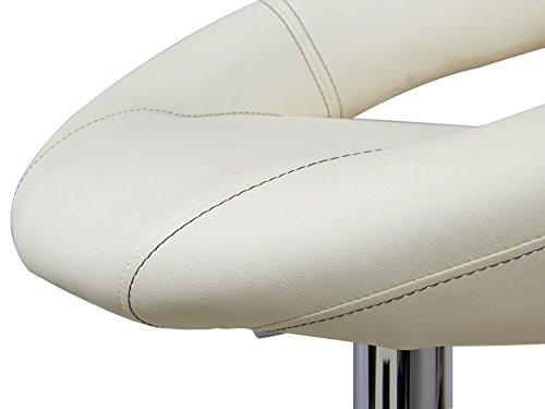 Woltu sgabelli da bar sedia cucina con schienale