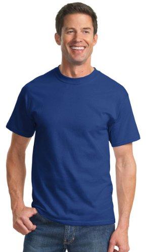 Port & Company Men's Tall Essential T Shirt LT Deep Marine