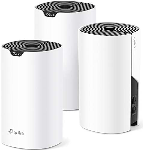 TP-Link Deco Mesh WiFi System (Deco S4) – Up to five,500 Sq.toes. Coverage, WiFi Router and Extender Replacement, Gigabit Ports,Seamless Roaming, Parental Controls, Works with Alexa, 3-pack