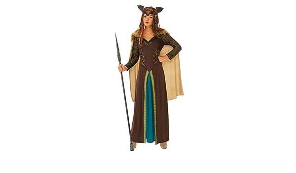 Horror-Shop Traje de la Mujer Guerrera Vikinga M: Amazon.es ...