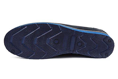 Melvin & Hamilton - Zapatos de cordones de Piel para hombre azul azul 42
