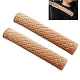 MLOVESIE 2 Packs Car Seat Belt Pads Plush Soft