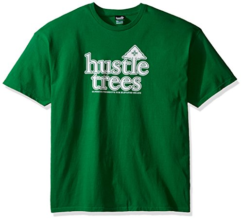 - Hustle Trees Men's Hustletrees Tee, Kelly Green, 2XL