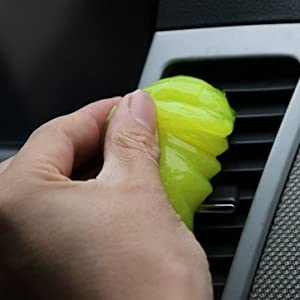 Glue Dust Cleaner For Car - Keyboard Cleaner Gel - Magic Glue clean tool - Sticky Cleaning Slime - Dust Glue Cleaner Tool Clean For Car Air Vent Dashboard Conditioner Storage Box Door Handle Keyboard