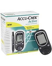 جهاز قياس نسبة السكر في الدم من اكيوتشيك مع 50 شريط