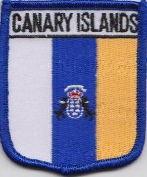 Islas Canarias España Parche Con Bandera Bordada: Amazon.es: Jardín
