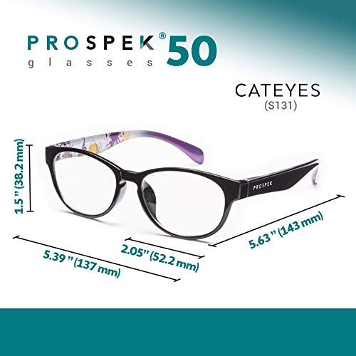 37a0000af6f Amazon.com  PROSPEK - Premium Computer Glasses - Cateyes - Relieve  Eyestrain and Protect Your Eyes. Manufactured by Spektrum Glasses  Home  Improvement