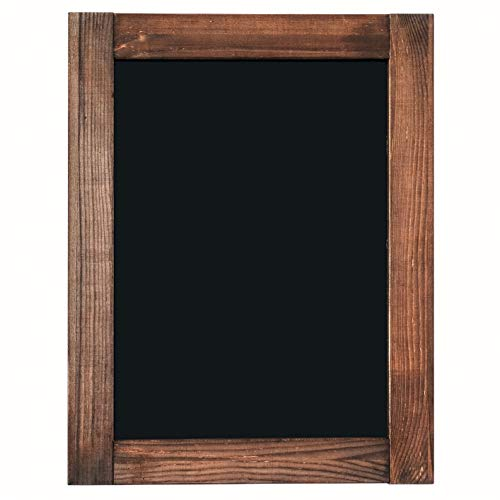 Porcelain Black Chalkboard - Chalkboard | Magnetic & Non-Porous | Framed Chalkboard | Vintage Decor | Chalk Board for Wedding, Kitchen, Bar, Restaurant, Menu & Home | Rustic Chalkboard Sign | 11