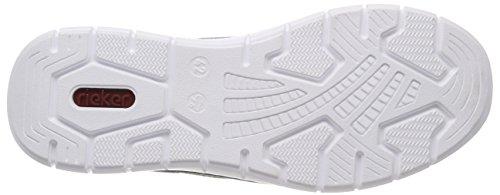 B8752 Rieker Gris Hommes Sneaker Oc Glissement Sur gris Asphalte wPBq6E