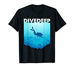 Our Scuba Diving Freediving T-shirt is the perfect tshirt for diving, freediving, apnea and apnoe fans. This unique graphic tee shirt design is a great present for friends, partners or family who like to dive. More shirts click my brand. Peop...