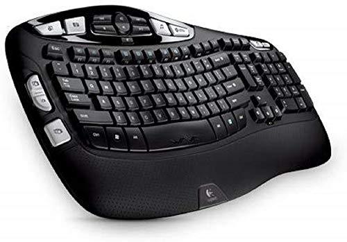 Logitech Wireless Keyboard K350-by Logitech Inc.