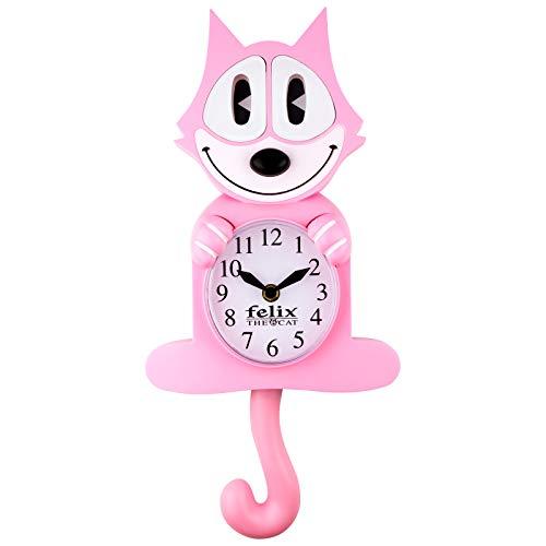 (Felix The Cat Motion Clock - Pink)