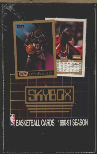 Skybox 1990-91 Season NBA Collectable Basketball Cards ()