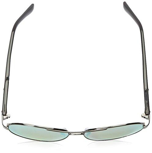 Klein Gunmetal Flash R363s Calvin Aviator Sunglasses Dark yellow Men's SxnwnOYq8d