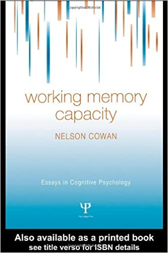 Amazoncom Working Memory Capacity Essays In Cognitive  Working Memory Capacity Essays In Cognitive Psychology St Edition
