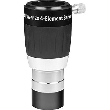 Image of High-Power 1.25 Inch 2X 4-Element Barlow Lens Barlow Lenses