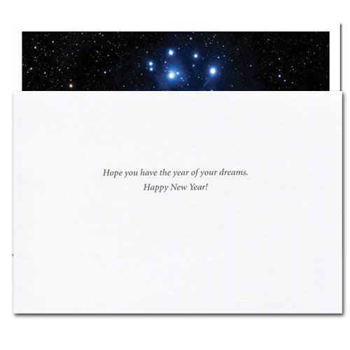 New Year Cards-Sight of Stars 10 Cards & Env Professional or Personal Use Made in USA by CroninCards by CroninCards (Image #1)