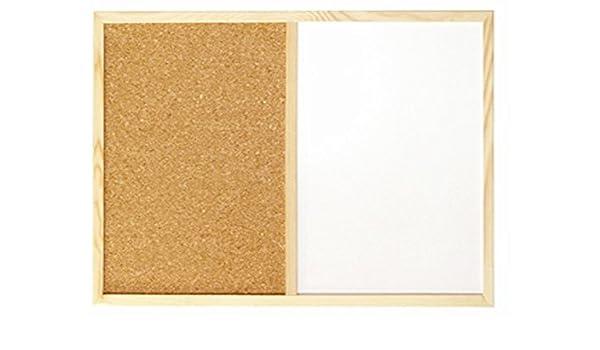 Pizarras blancas combinadas - 900x600 mm: Amazon.es: Hogar