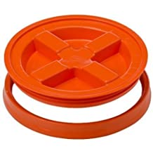 Gamma Seal Lid - Orange - For 3.5 to 7 Gallon Buckets or Pails Gamma2 by USA