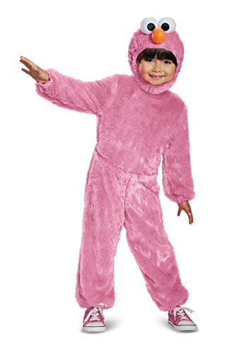 Elmo Comfy Fur Costume, Pink, Medium (3T-4T)