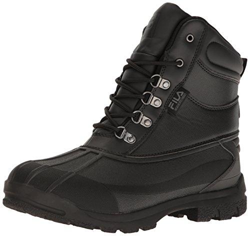 Fila Men's Weathertech Extreme Walking Shoe, Black/Gum, 11.5 M US (Fila Weather Tech)