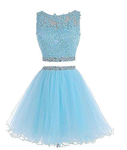 Blue 2 Prom Dress - 5