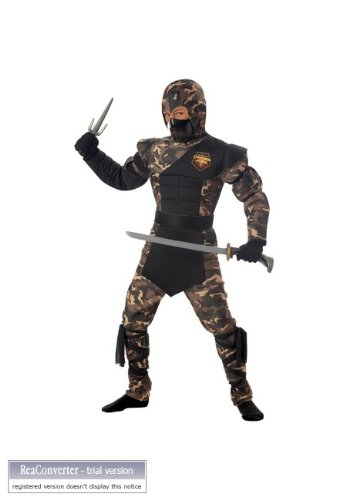 Special Ops Ninja Child Costume - Small