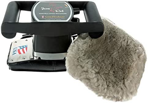 Core Products Jeanie Rub Variable Speed Massager - Sheepskin Cover Combo