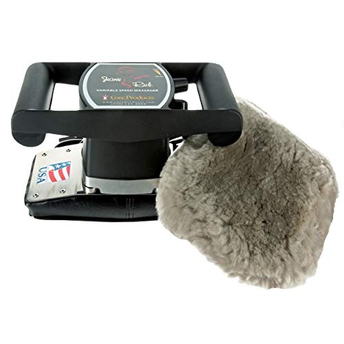 - Core Products Jeanie Rub Variable Speed Massager - Sheepskin Cover Combo