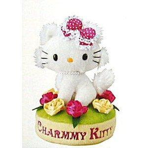 CF-025S Charmy Kitty stuffed toy music box (flower motif)