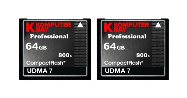 Amazon.com: Komputerbay 2 Pack – 64 GB Professional Compact ...